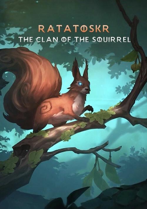 Northgard - Ratatoskr, Clan of the Squirrel - Cover / Packshot