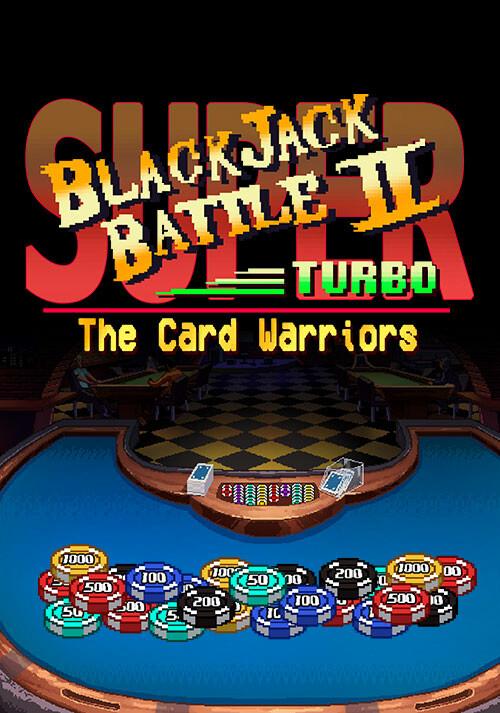 Super Blackjack Battle II Turbo Edition - Cover / Packshot
