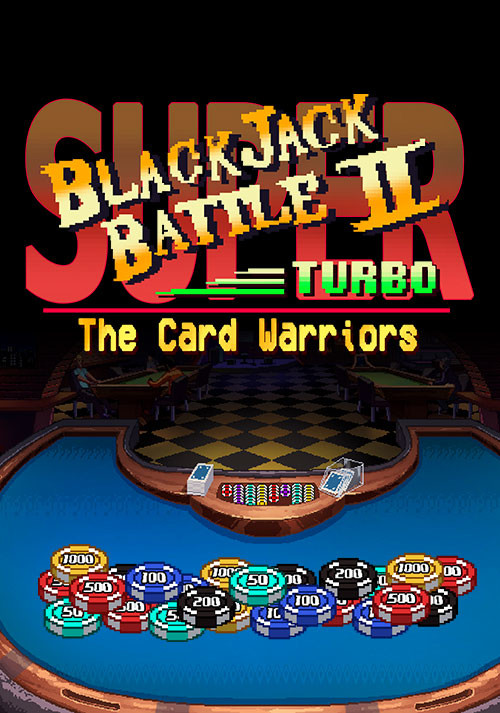 Super Blackjack Battle II Turbo Edition - Cover