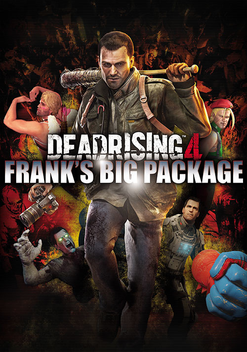 Dead Rising 4: Frank's Big Package - Cover