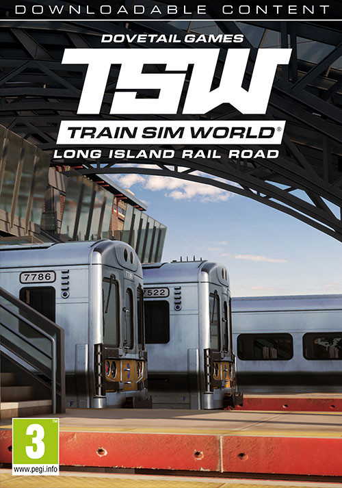 Train Sim World®: Long Island Rail Road: New York – Hicksville Route Add-On - Cover / Packshot