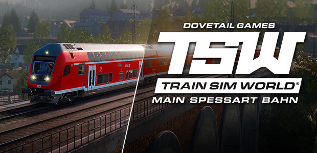 Train Sim World®: Main Spessart Bahn: Aschaffenburg - Gemünden - Cover / Packshot