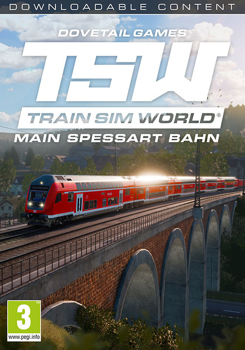 Train Sim World®: Main Spessart Bahn: Aschaffenburg - Gemünden - Cover