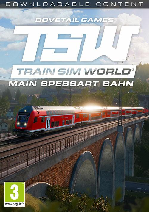 Train Sim World®: Main Spessart Bahn: Aschaffenburg - Gemünden - Cover / Packshot