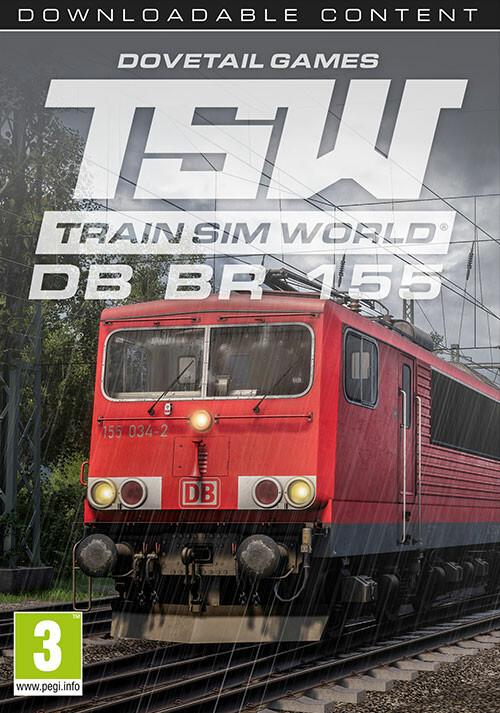 Train Sim World: DB BR 155 Loco Add-On - Cover