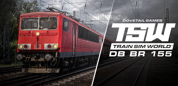 Train Sim World: DB BR 155 Loco Add-On - Cover / Packshot