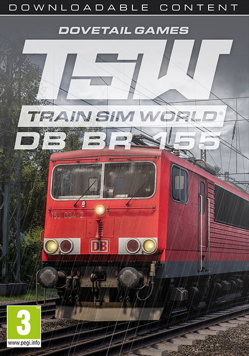 Train Sim World: DB BR 155 Loco Add-On - Cover / Packshot