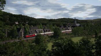 Screenshot2 - Train Sim World: DB BR 155 Loco Add-On