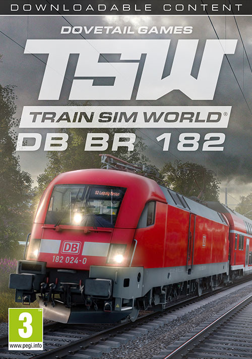 Train Sim World: DB BR 182 Loco Add-On - Cover / Packshot