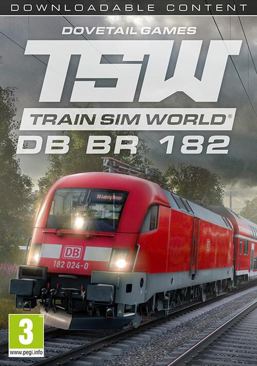 Train Sim World: DB BR 182 Loco Add-On - Cover / Packshot