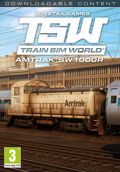 Train Sim World®: Amtrak SW1000R Loco Add-On - Cover / Packshot