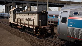 Screenshot1 - Train Sim World®: Amtrak SW1000R Loco Add-On