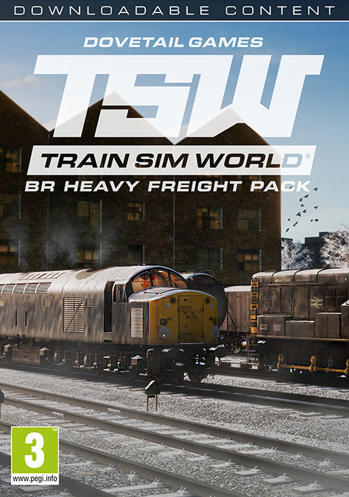 Train Sim World®: BR Heavy Freight Pack Loco Add-On - Cover / Packshot