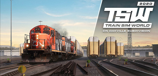 Train Sim World®: Canadian National Oakville Subdivision: Hamilton – Oakville Route Add-On - Cover / Packshot
