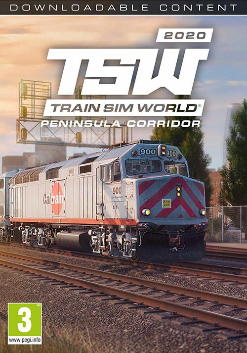 Train Sim World®: Peninsula Corridor: San Francisco – San Jose Route Add-On - Cover / Packshot