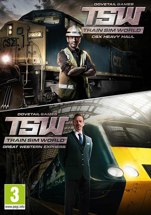 Train Sim World®: CSX Heavy Haul + Great Western Express Pack - Packshot