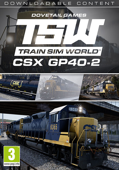 Train Sim World®: CSX GP40-2 Loco Add-On - Cover / Packshot