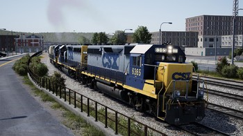 Screenshot1 - Train Sim World®: CSX GP40-2 Loco Add-On