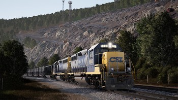 Screenshot5 - Train Sim World®: CSX GP40-2 Loco Add-On