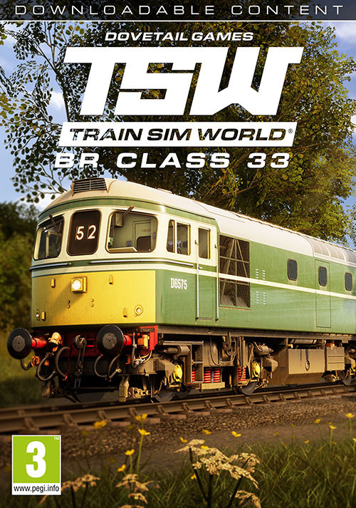 Train Sim World®: BR Class 33 Loco Add-On - Cover