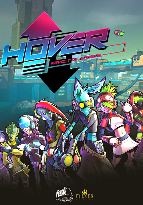 Hover: Revolt of Gamers - Cover