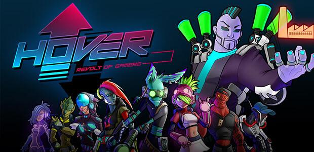 Hover: Revolt of Gamers - Cover / Packshot