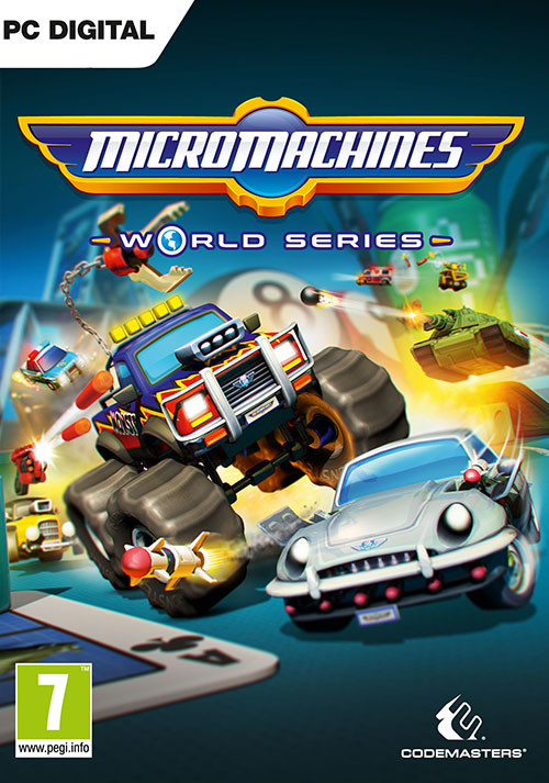 Micro Machines World Series - Cover