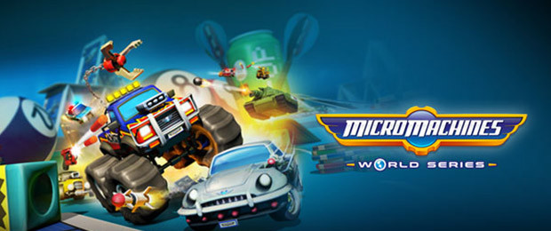 Micro Machines World Series - The Thrill of the Race!