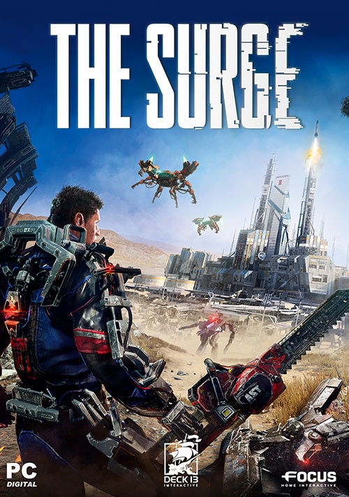 The Surge - Cover / Packshot