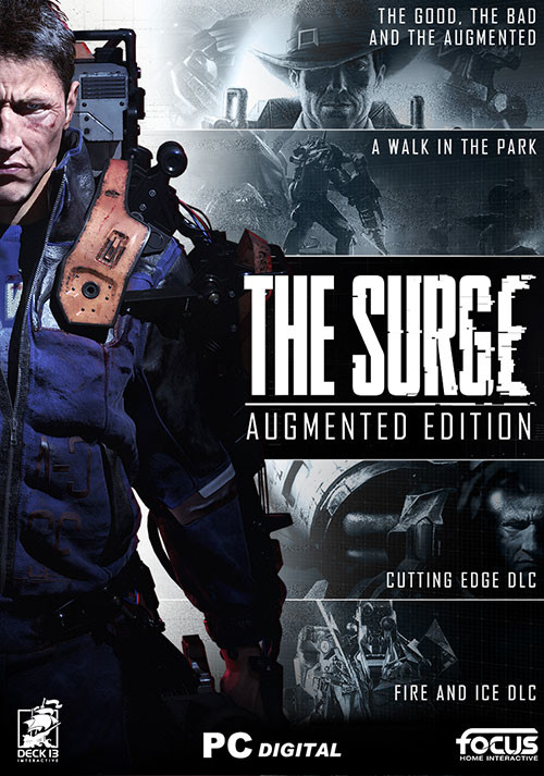 The Surge - Augmented Edition - Cover