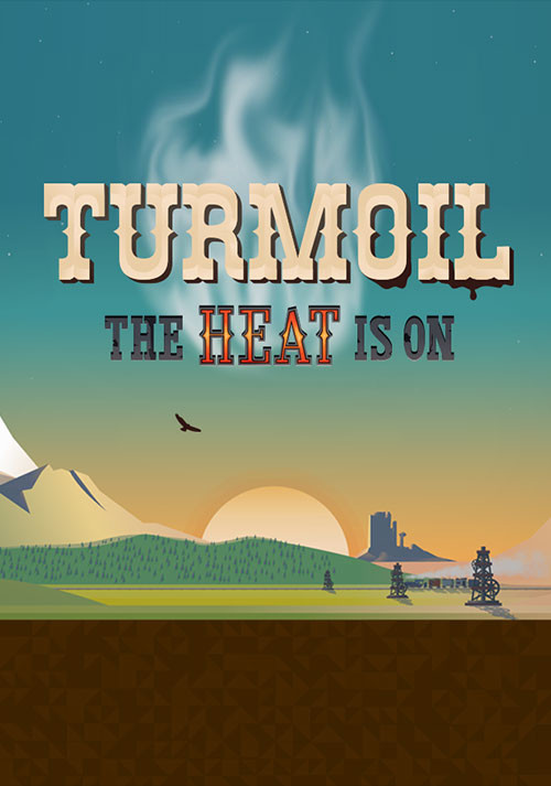 Turmoil - The Heat Is On - Cover / Packshot
