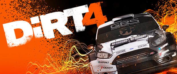 DiRT 4 - 19 Minuten aus Rallye-Spiel im Gameplay-Video