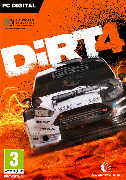 DiRT 4 - Cover