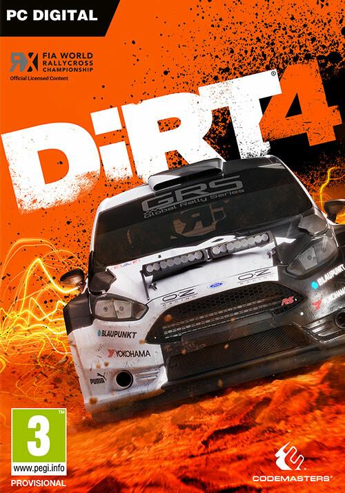 DiRT 4 - Cover / Packshot