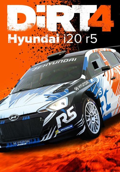 DiRT 4 - Hyundai i20 r5 - Packshot