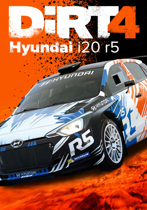 DiRT 4 - Hyundai i20 r5 - Packshot