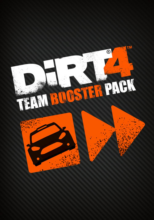 DiRT 4 - Team Booster Pack - Cover