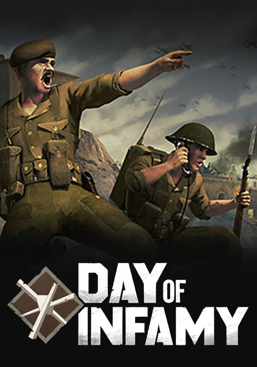 Day of Infamy - Cover / Packshot