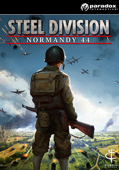 Steel Division: Normandy 44 - Cover / Packshot