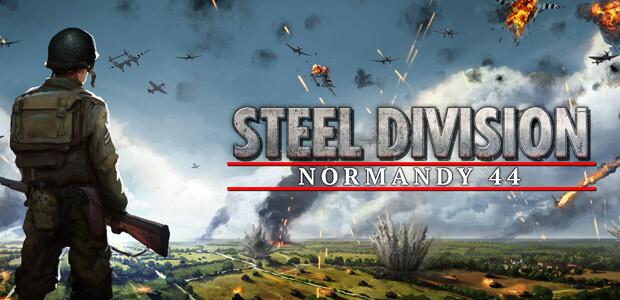 Steel Division: Normandy 44 - Cover / Packshot