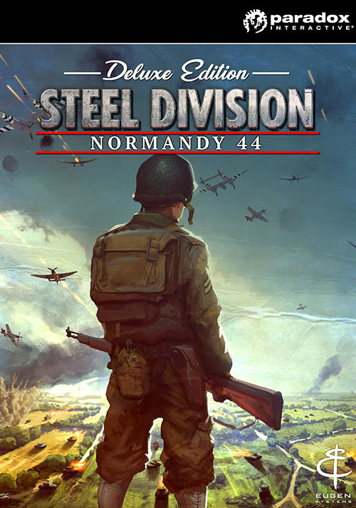 Steel Division: Normandy 44 Deluxe Edition - Cover
