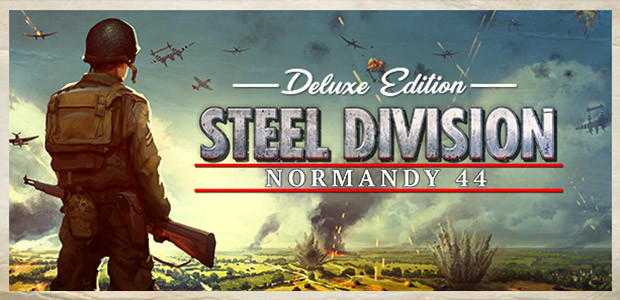 Steel Division: Normandy 44 Deluxe Edition - Cover / Packshot