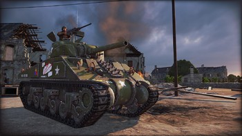 Screenshot1 - Steel Division: Normandy 44 - Second Wave