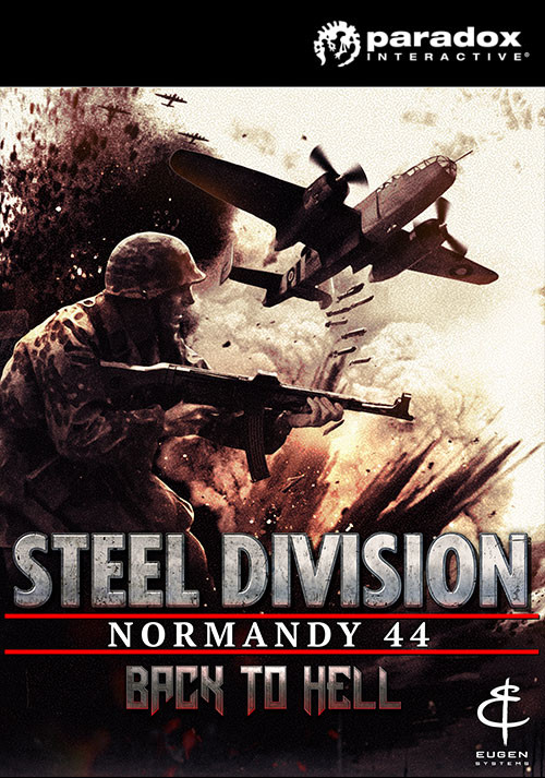 Steel Division: Normandy 44 - Back to Hell - Cover