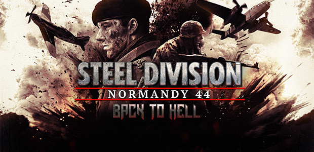 Steel Division: Normandy 44 - Back to Hell - Cover / Packshot