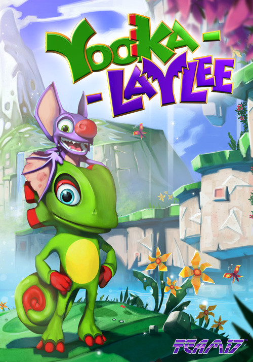 Yooka-Laylee - Cover