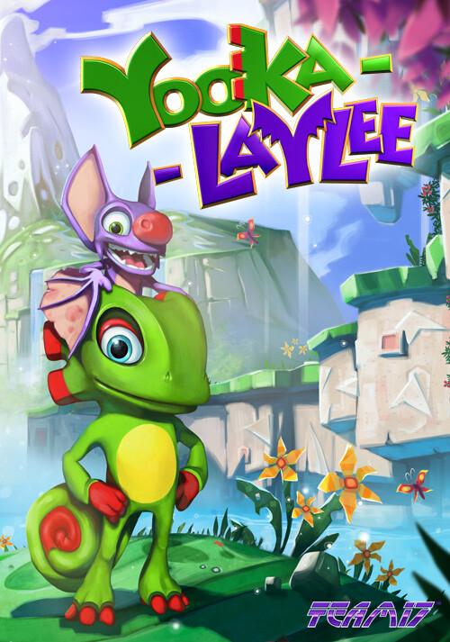 Yooka-Laylee - Cover / Packshot