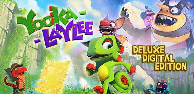 Yooka-Laylee - Digital Deluxe - Cover / Packshot