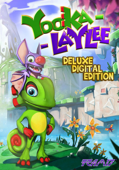 Yooka-Laylee - Digital Deluxe - Packshot
