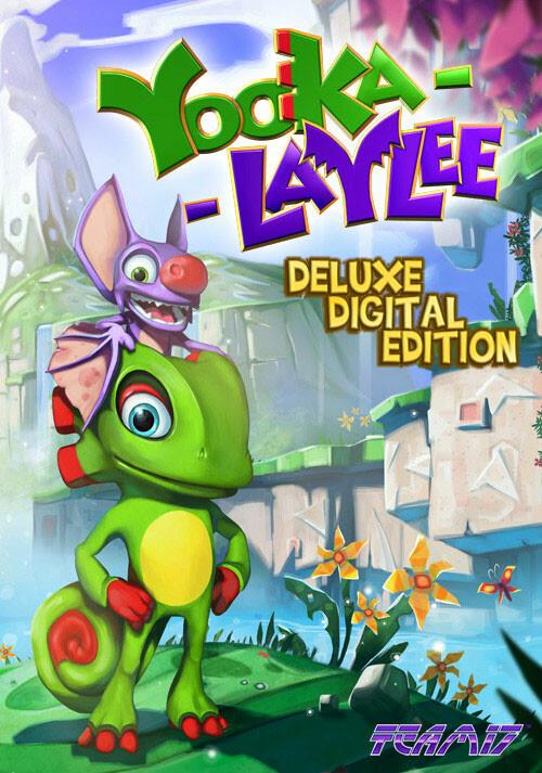 Yooka-Laylee - Digital Deluxe - Cover / Packshot